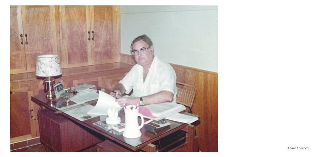 André Charneau - constructeur du Village St Jean