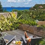 deck du cottage standard jardin - hotel saint barth Le Village