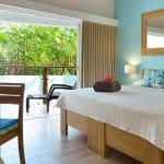 chambre de la chambre d'hotel standard - hotel saint barth Le Village