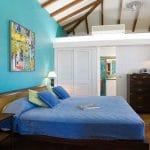 chambre du cottage tradition terrasse - hotel saint barth Le Village